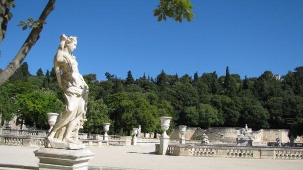 Сад фонтанов