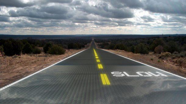 Открытые дороги во Франции
